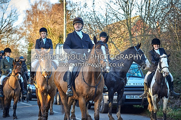 Yorkshire Farmer Bloodhounds - 01JAN2019 - New Years Day Fishlake Hunt